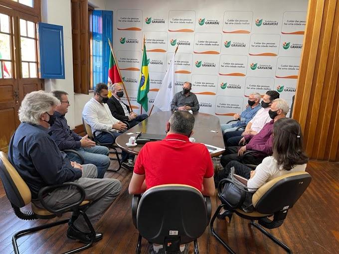 Prefeito Zaffa recebe presidente da Elevato, que vai investir R$ 13 milhões em Gravataí