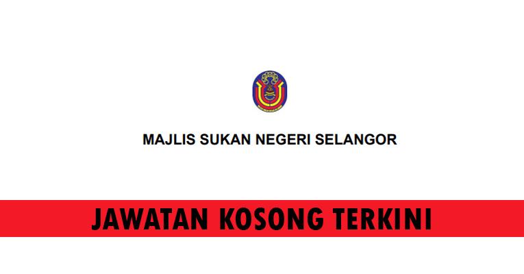 Kekosongan Terkini di Majlis Sukan Negeri Selangor