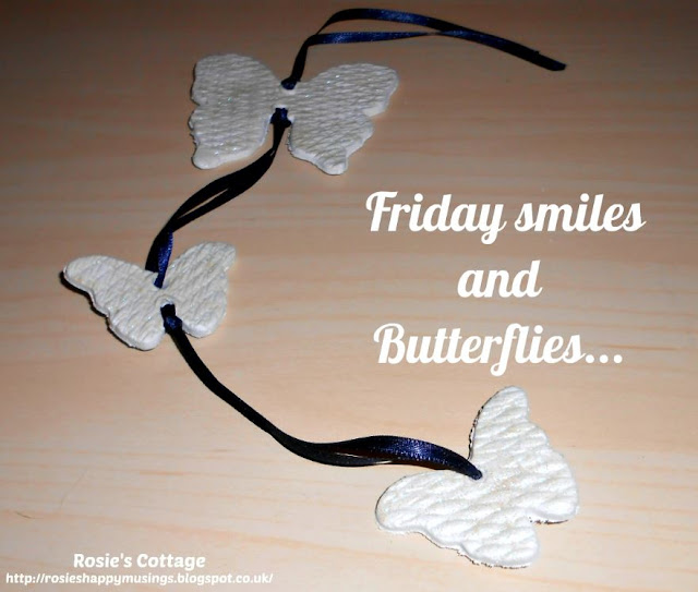 Friday smiles and butterflies: crafting fun with air dry clay