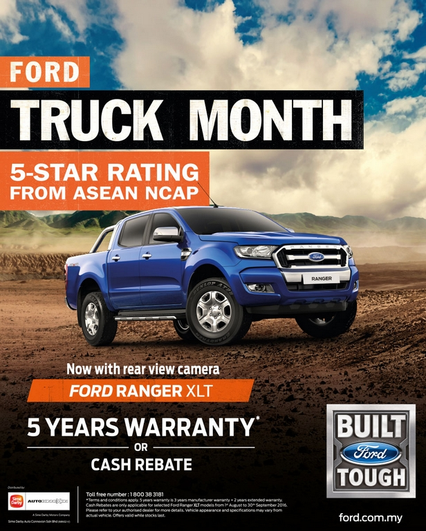 Ford Has Announced That September 2016 Is Truck Month They Are Offering Special Deals Make The Best Time For Malaysians Or Anyone Who