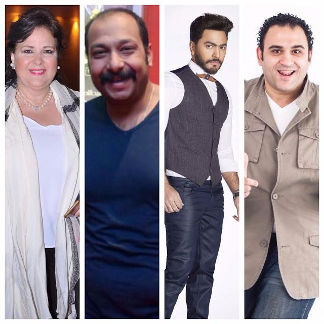 أبطال فيلم تامر حسني وأكرم حسني القادم 2018 أحداث وتفاصيل  فيلم تامر حسني الجديد