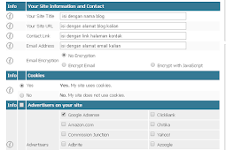 Cara Mudah Membuat Halaman Privacy Policy di Blog Beserta Gambarnya
