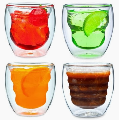 Ozeri Thermo Glasses, Unusual Glassware, Gifts for Christmas, Ozeri