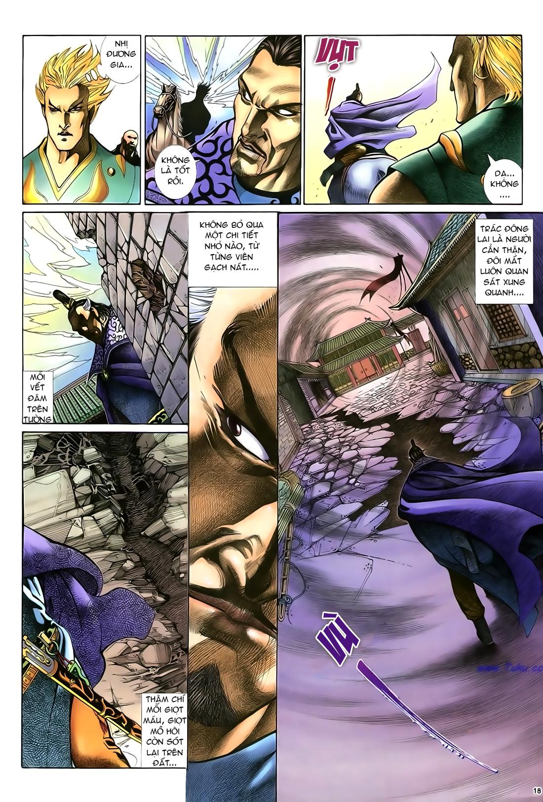 Anh hùng vô lệ Chap 21 trang 19