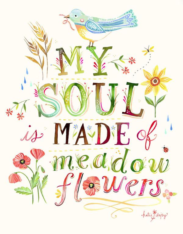 Pen Paper Flowers Inspire Promise Me April Surprise