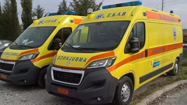 20 καινουργια ασθενοφόρα στην Περιφέρεια Πελοποννήσου