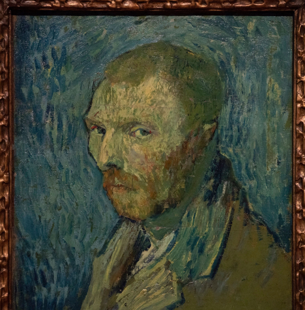 Vincent van Gogh, The Oslo Self-Portrait (1889)