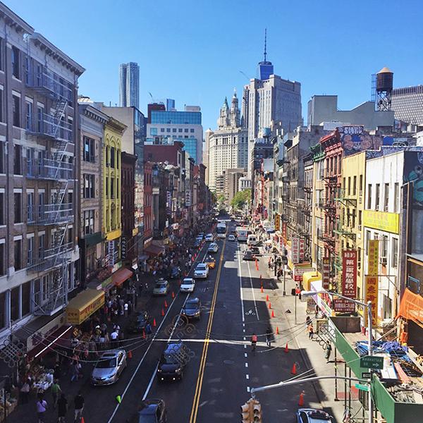 East Broadway, New York Chinatown