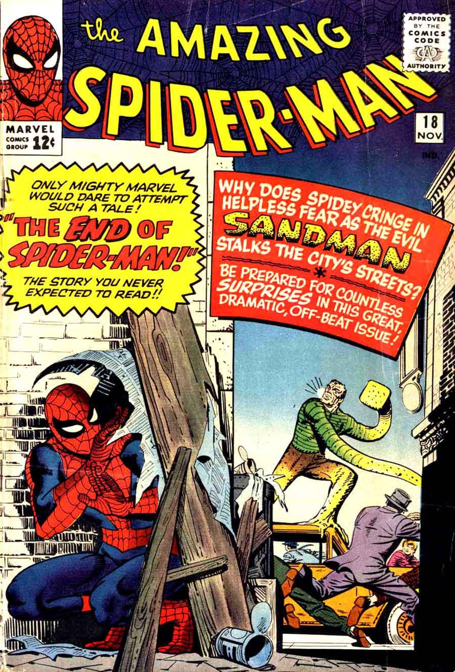 Amazing Spider-man #18 - Steve Ditko art & cover - Pencil Ink