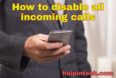 Disable Call from Call Divert Code