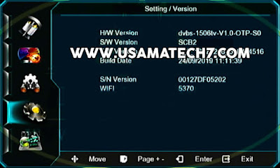 1506tv New Software SCB2 Menu