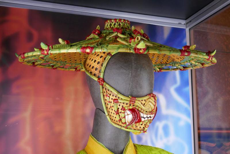 Shang-Chi Ten Rings Li costume hat face mask