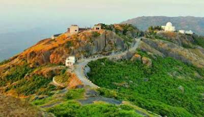 Mount abu by road