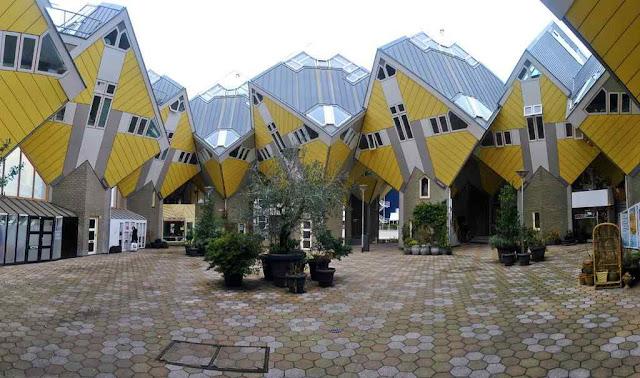 Berbagai Bentuk Gedung Aneh Di Dunia