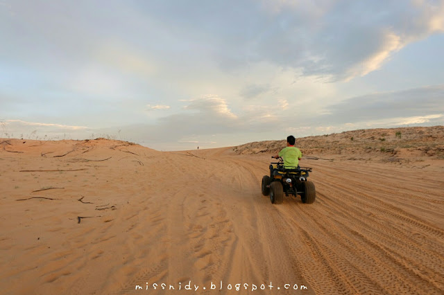 sewa atv di white sand dunes mui ne vietnam