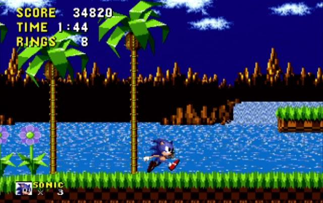 (Jeux) On peut jouer à Sonic