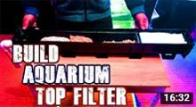 Build Top Filter For Aquarium