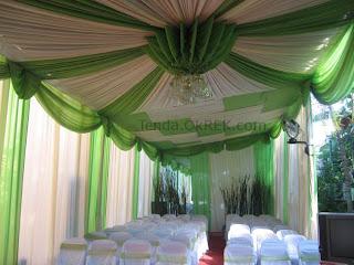 jasa dekorasi pengantin di rumah - tenda ok rek