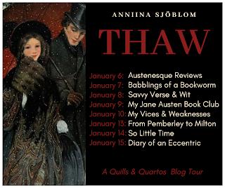 Blog Tour: Thaw by Anniina Sjöblom