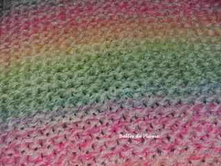 Bulles de Plume - DIY Poncho au tricotin