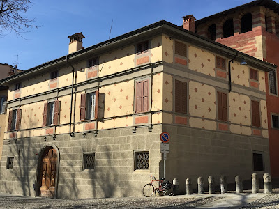 Palazzo on Piazza Giacomo Carrara
