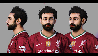 PES 2021 Faces Mohamed Salah by Sameh Momen