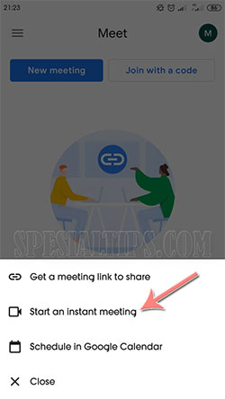 Cara Menggunakan Google Meet Di Ponsel Android dan iOS