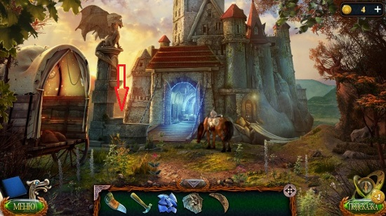 месторасположение для установки каменной детали в игре затерянные земли 4 скиталец