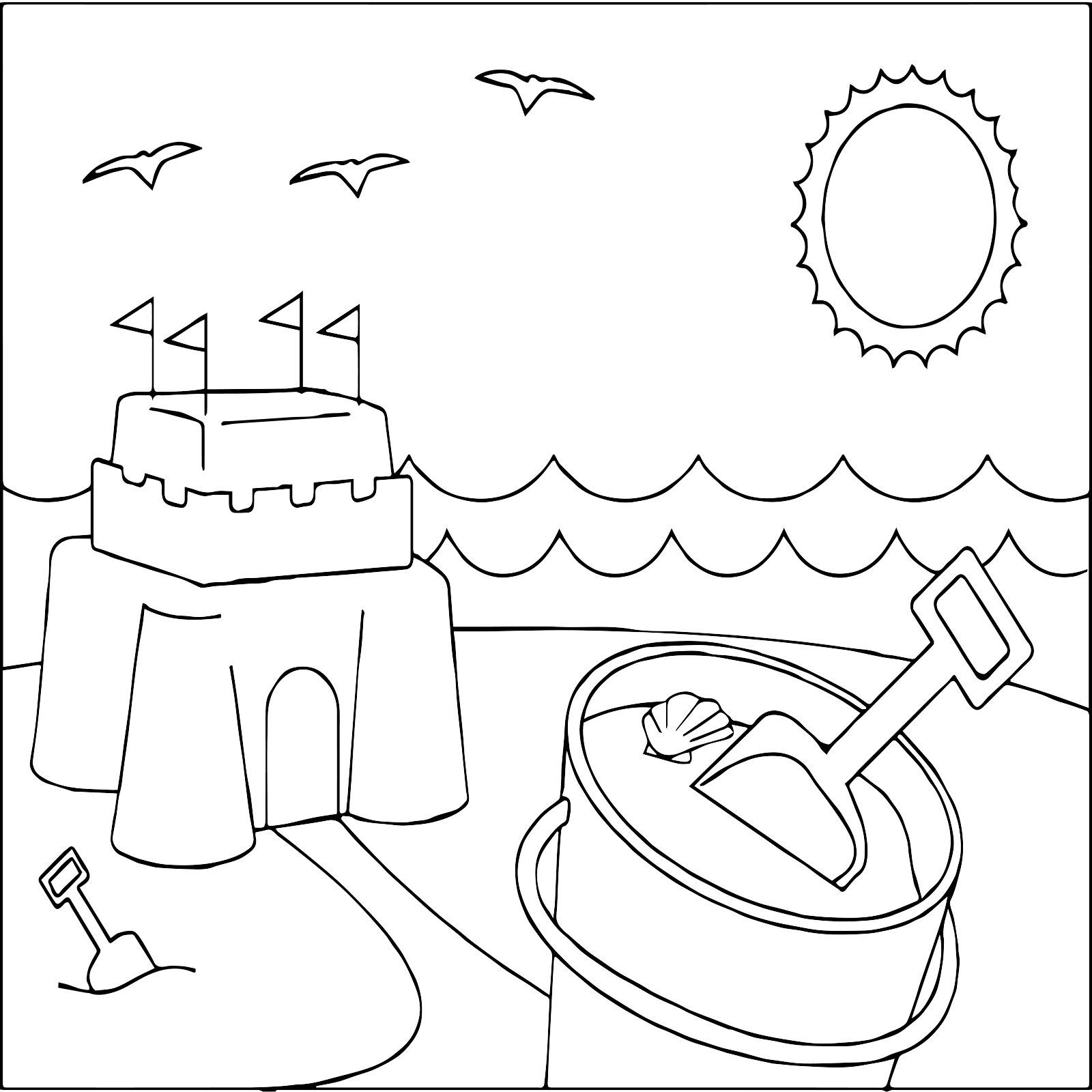 Free Videos For Kids Summer Coloring Pages Free Printable For Kids