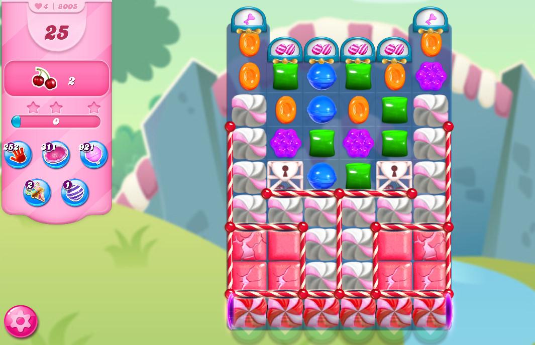 Candy Crush Saga level 8005