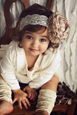 Cantiknya bayi perempuan yang satu ini