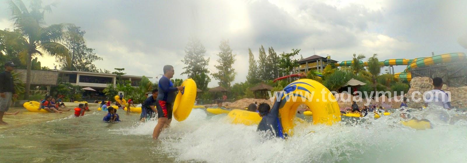 Jogja Bay Pirates Adventure Waterpark Yogyakarta Indonesia