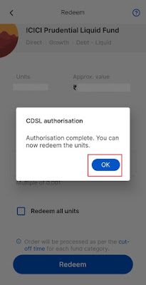 CDSL Sell Authorisation for Zerodha Coin