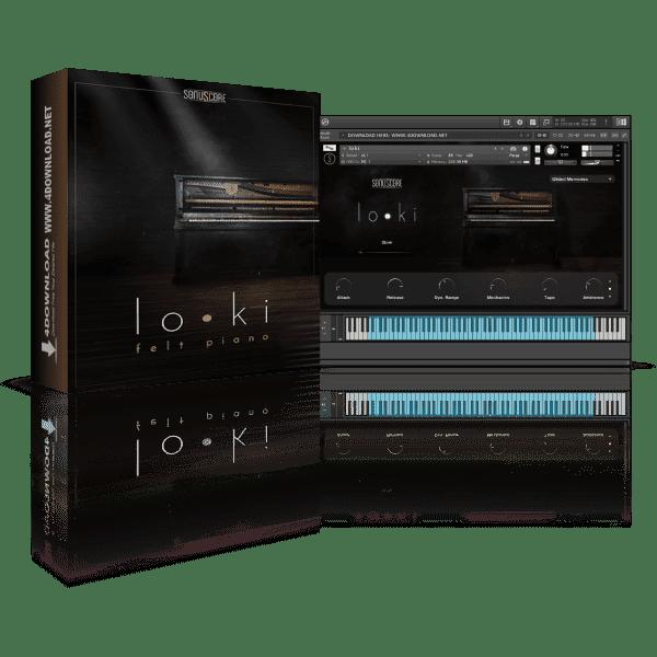Sonuscore LO•KI Felt Piano KONTAKT Library