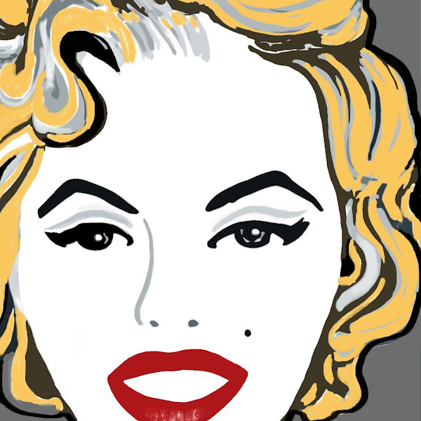 Pop Art - inspired by Marilyn Monroe