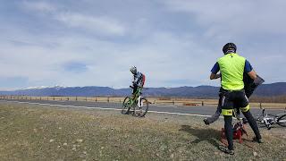 Дорога из Аршана в Култук на велосипедах