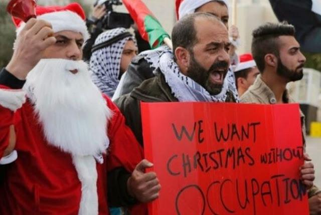 Israel Larang Umat Kristen di Gaza Rayakan Natal di Betlehem