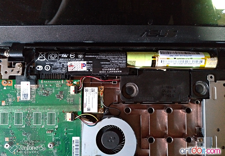 baterai Asus X540S
