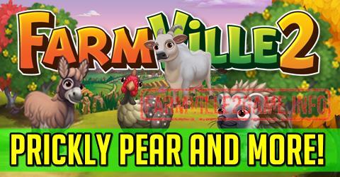 Farmville 2 Prickly Pear and More