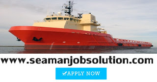 Able seaman for offshore supply vessel job