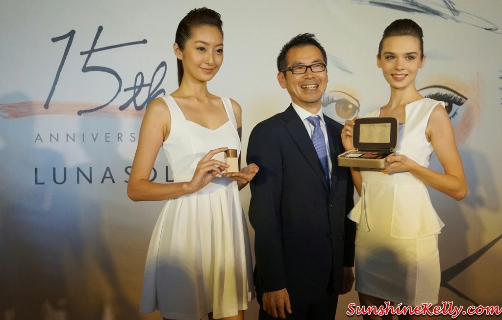 Kanebo Lunasol 15th Anniversary Celebration, Kanebo Lunasol, Kanebo, Lunasol Daily Win, LunasolMY15, Kanebo Lunasol 15th Anniversary Makeup Palette, Kanebo Lunasol Modelling Beige  Skin Makeup Base / Foundation SPF30, Lunasol 15th Anniversary, Lunasol Makeup, Purifying Makeup