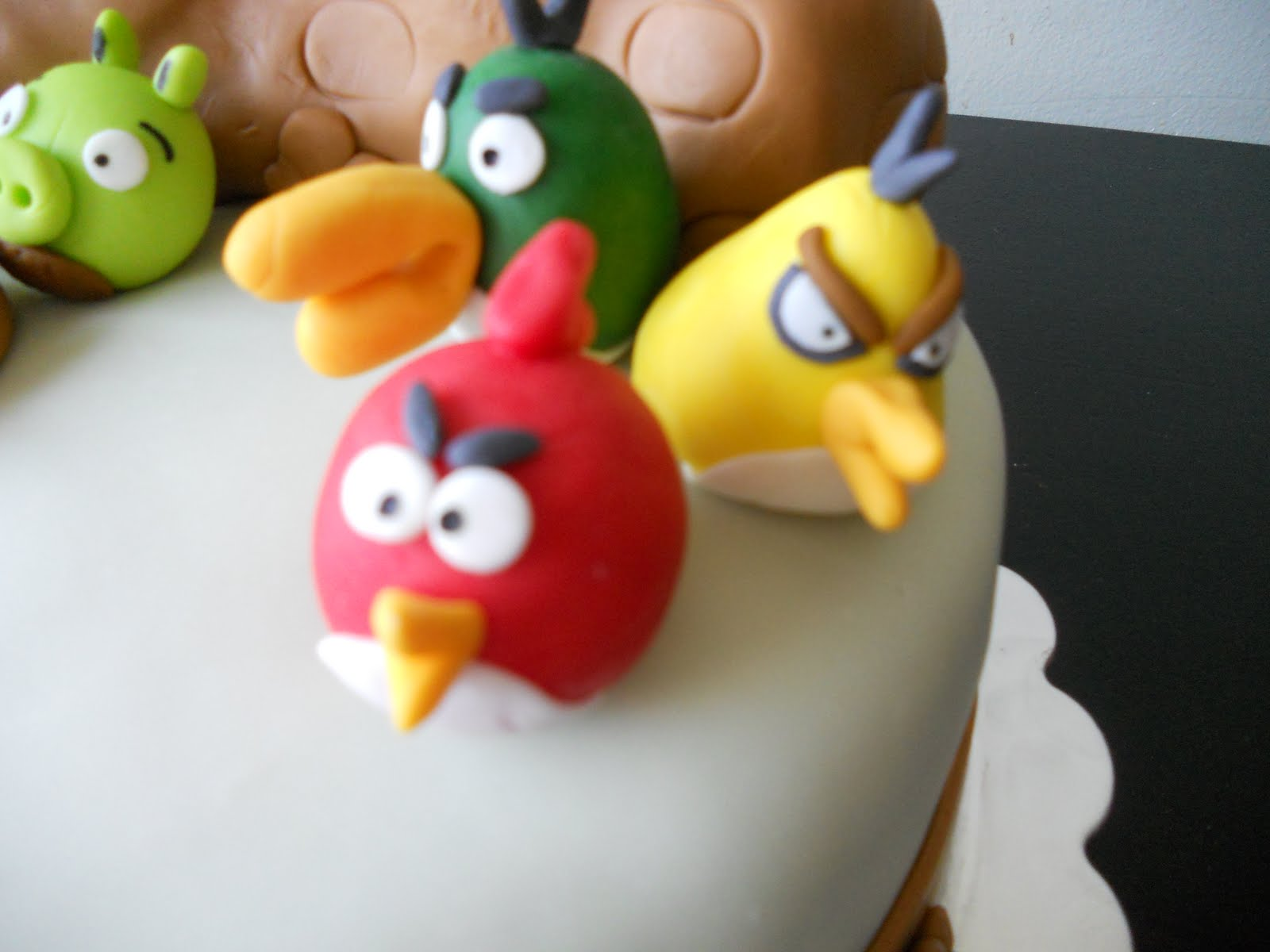 Amber S Birthday Creations Angry Birds Cake