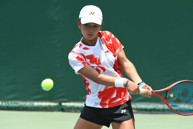 Priska Madelyn Nugroho Melaju ke Semifinal Turnamen ITF Junior International Nottingham G1