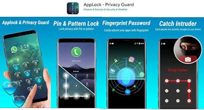 kunci layar aplikasi
