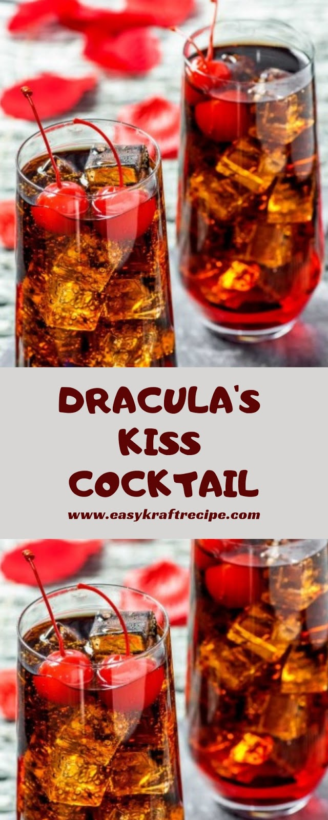 DRACULA'S KISS COCKTAIL