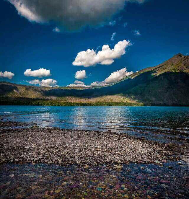 Lake McDonald | Colorful Lake