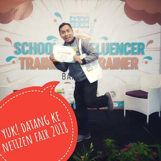 cecep husni mubarok ajak ke netizen fair 2018