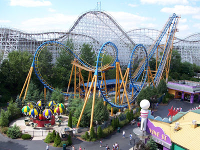 Six Flags Magic Mountain - Los Angeles - que visitar
