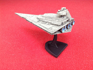 A Revell Star Destroyer model kit