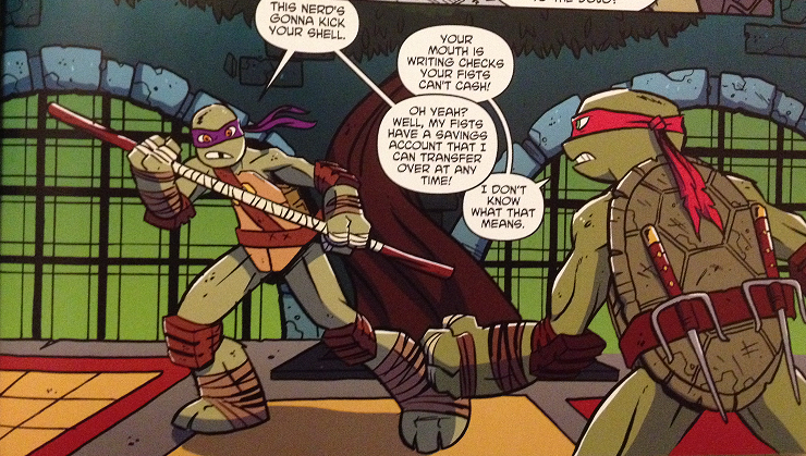 The Blog Of Epic Randomness Idw Teenage Mutant Ninja Turtles New